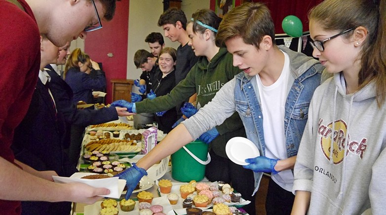 Ashington Academy Macmillan Coffee Morning 2017