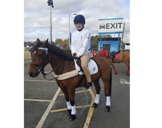 Hannah takes part in Prince Philip Cup Competition
